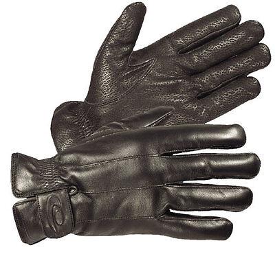 HATCH WINTER PATROL GLOVES- THINSULATE INSULATION & SOFT TRICOT LINER FOR WARMTH Hatch Black Winter Glove