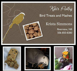 NEW PRODUCTS - Kiki's Pantry - Bird Mashes and Treats