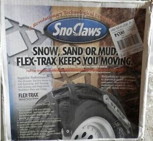sno-claw tire chains