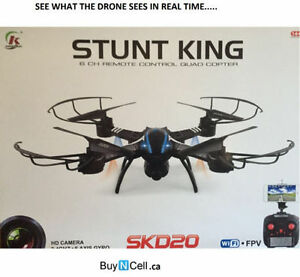 FLYING DRONE QUADCOPTER HD CAMERA - REGULAR RETAIL $399