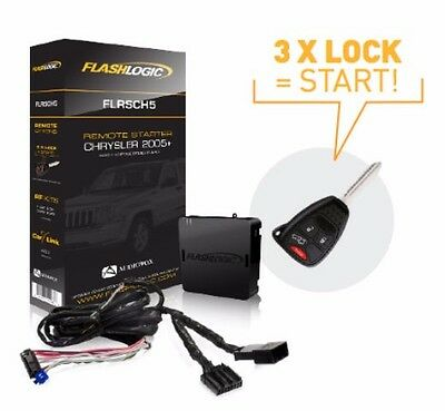 Flashlogic Plug-N-Play Remote Start for CHRYSLER DODGE JEEP RAM FLRSCH5 NEW