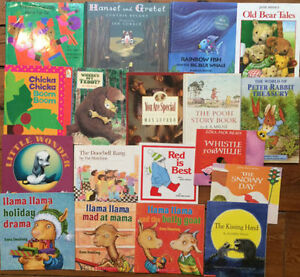 POPULAR CHILDREN'S PICTURE BOOKS great shape $3 each or 18/$30