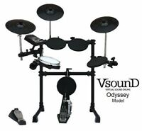 Batterie drum électronique VsounD ODYSSEY - MESH multi-zones USB