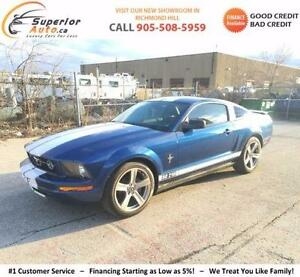2007 Ford Mustang V6 Coupe - Leather - WE FINANCE EVERYONE! - Clean Carproof - Safety + E-tested