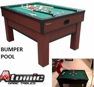 NEW ATOMIC CLASSIC BUMPER POOL TABLE