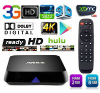 ★Quad Core M8s TV Box Android 8Gb 2Gb ram HDMI Bluetooth IPTV★