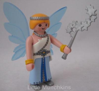 Playmobil pretty blue fairy with star wand NEW magic/fairytale/palace figure