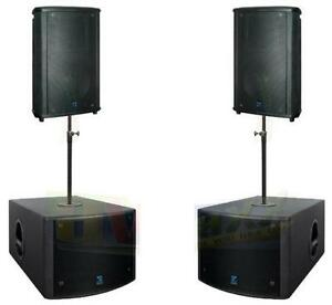 Yorkville Elite active speakers and active subs
