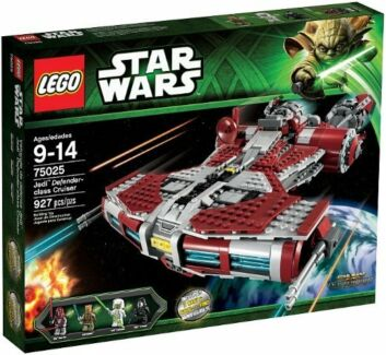 LEGO 75025 Jedi Defender-class Cruiser Set New in Box Bayswater North Maroondah Area Preview