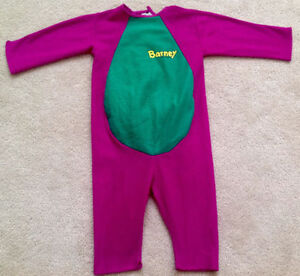 Children's BARNEY Costume - Excellent Condition!!