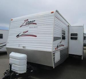 2007 ZINGER 30 BH - LIGHT BUNK HOUSE! PERFECT FOR FAMILIES!