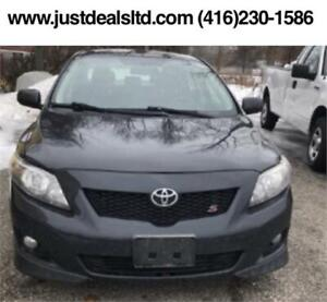 2009 Toyota Corolla S,Automatic ,Certified