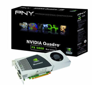 Carte video 4GB Quadro FX 5800 Profesional Graphics Board