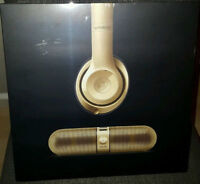 Gold Beats By Dr. Dre Studio Wireless & Beats Pill 2.0 Limited