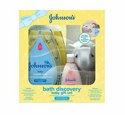 Johnson's Bath Discovery Baby Gift Set, Baby Bath Essentials For Parents-To-Be comprar usado  Enviando para Brazil