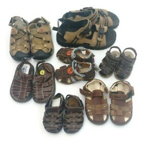 (41) Boys' Sandals from $5