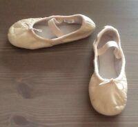 Angelo Luzio chaussons/souliers ballet en cuir grandeur 11,5