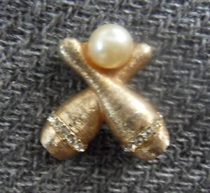 Vintage Bowling Pin Broach by Ehrlich & Sinnock - SIGNED ES
