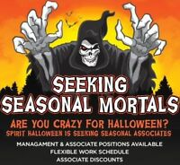 Are you looking for a fun exciting seasonal job?