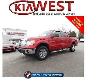 2012 Ford F150 Supercrew 4X4