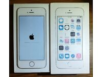 IPhone 5s 16GB Silver - Screen in Perfect Condition