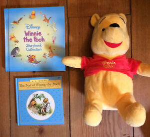 WINNIE THE POOH treasuries and toy $10 - great shape London Ontario image 1
