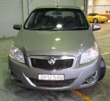 2010 Holden Barina TK MY10 Grey 5 Speed Manual Hatchback Pearce Woden Valley Preview