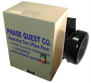 Phase Quest Rotophase Rotary Converter