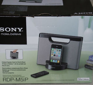 **BRAND NEW IN BOX** SONY PERSONAL AUDIO DOCKING SYSTEM