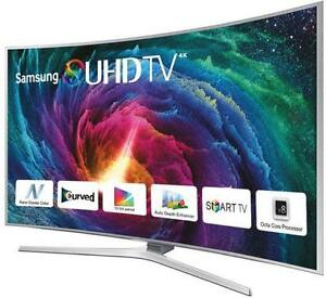 BRAND new Samsung 55 & 65 inch CURVED 4K UHD WIFI, ULTRA SLIM, HDR, USB, QUAD CORE, SMART LED TV