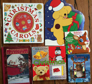 CHRISTMAS BOARD BOOKS $3 each or all 6 for $15