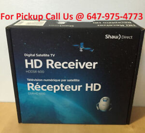 NEW Shaw Direct DSR600 HD 600 Receiver + Warranty