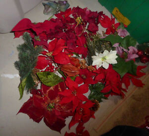 Poinsettias and a few others to make your own Christmas decor Kitchener / Waterloo Kitchener Area image 1
