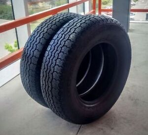 Set of two 195/70/14 Dunlop all season tires