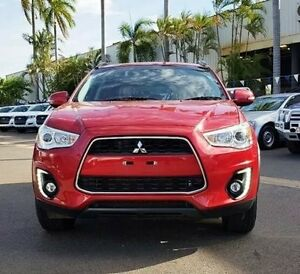 2015 Mitsubishi ASX XB MY15.5 LS 2WD Red 6 Speed Constant Variable Wagon Berrimah Darwin City Preview