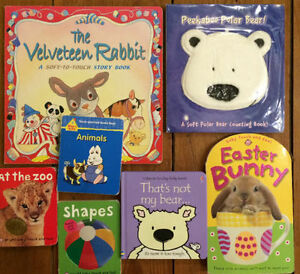 TOUCH AND FEEL BOARD BOOKS $3 each or all 7 for $15
