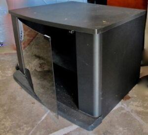 TV Stand with Glass Door