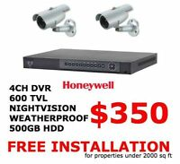 SURVEILLANCE SYSTEM STARTING FROM $350 FREE INSTALLATION