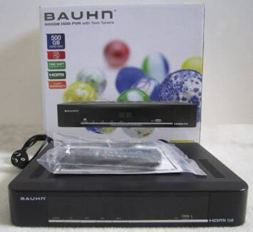 Bauhn 500Gb HDD PVR with Dual HD Tuners - Excellent condition