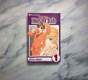 Ouran high school host club Manga Book #1