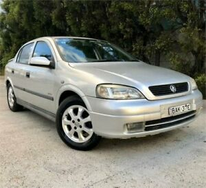 2002 Holden Astra TS CD Silver 5 Speed Manual Sedan Strathfield Strathfield Area Preview