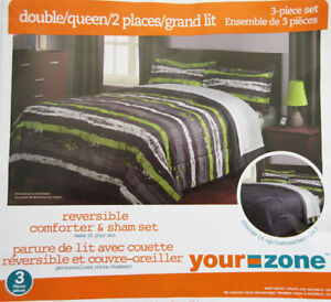Brand new Queen/Double size comforter set for $35.00 only