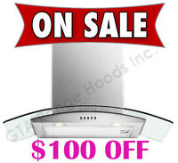 Wall Mount Chimney Range Hood Kitchen Exhaust Fan $299 only