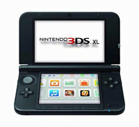 Red Nintendo 3ds XL in BOX with games