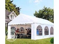 LEASE White 3x6 Outdoor PVC 500g/ m2 Marque/ Gazebo