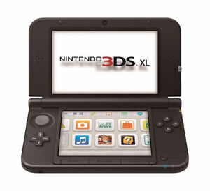 RECHERCHE Nintendo 3 DS XL console LOOKING FOR 3 DS XL