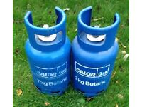 7kg calor gas butane bottles