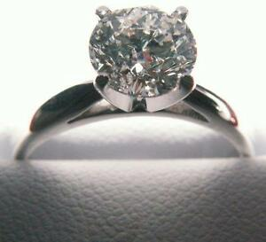 1.55 ct Engagement. Ring / 0.41 ct Wedding Ring