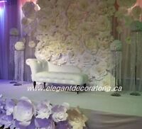 Amazing wedding décor an affordable price