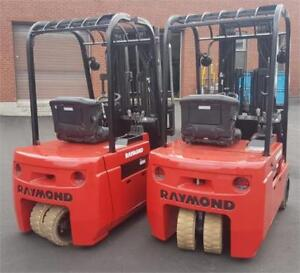 Raymond forklift 445 , Chariot elevateur 3500 Lbs d'occasion